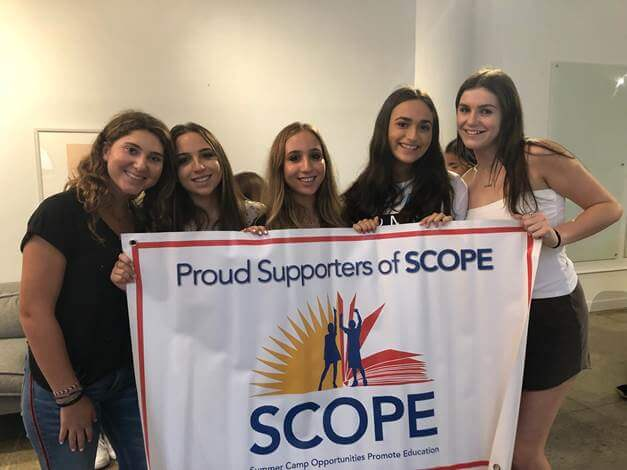 Trail's End Camp members of the SCOPE Junior Leadership Council