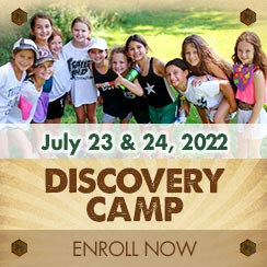 Enroll for Discovery Camp