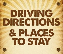 Driving Directions & Places to Stay
