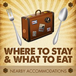 Where to stay, what to eat
