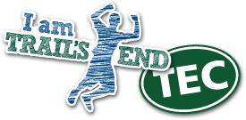 I am Trails End sticker